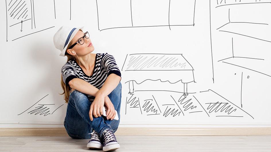 immer j nger in die eigenen vier w nde. Black Bedroom Furniture Sets. Home Design Ideas