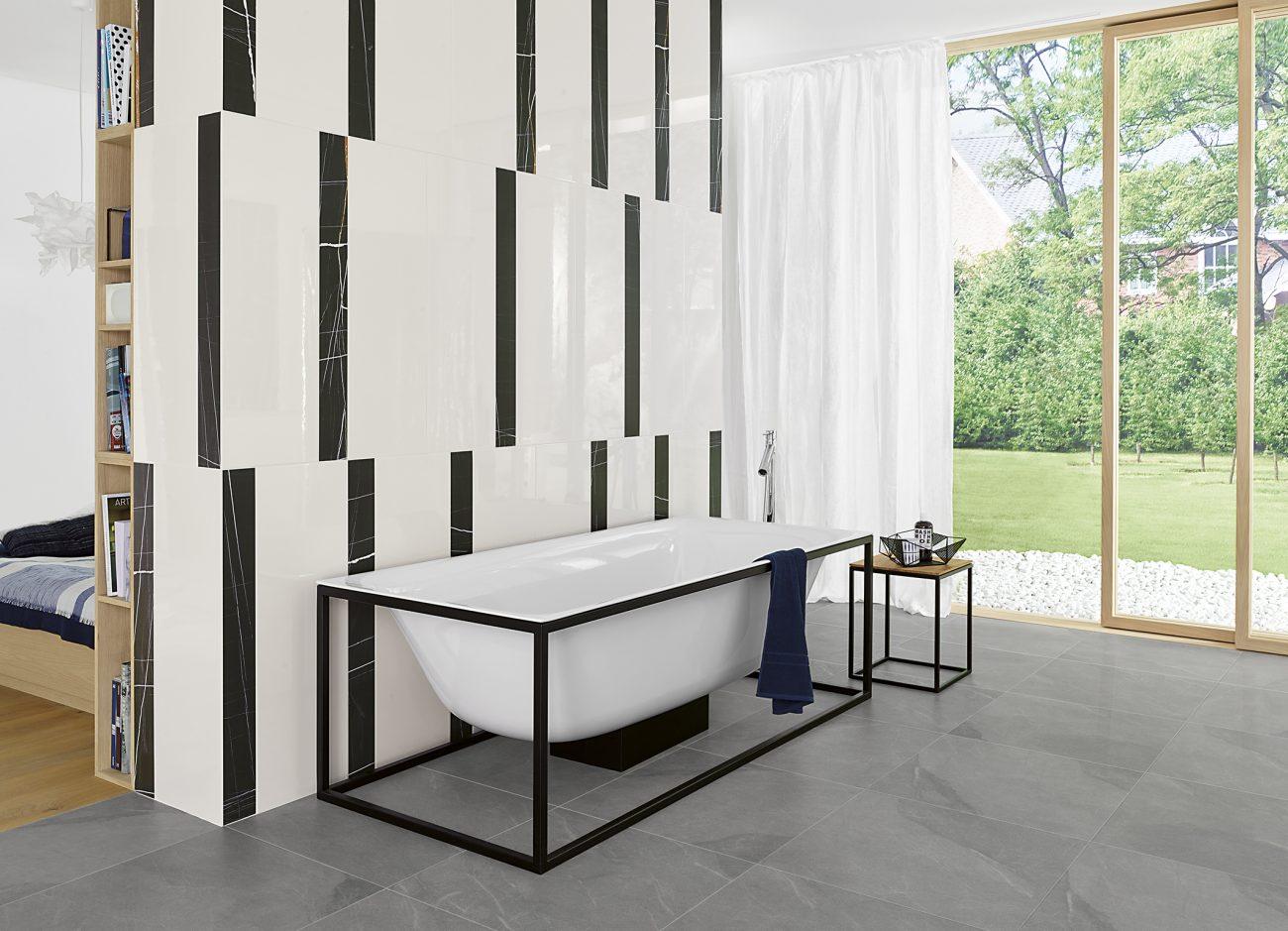 Von lasa marmor bis zum keramischen teppich for Moderne wandfliesen