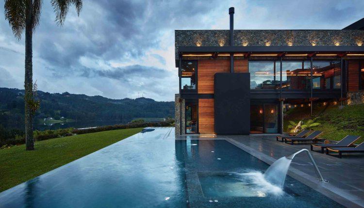 Designpreis Fur Uberlauf Pool In Medellin 1200grad Com