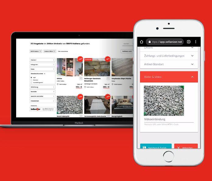"""Baustoff-Reklamationen mit der App """"Sellanizer"""" effizient verwalten"""